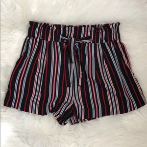 Ambiance Apparel Stripe Shorts